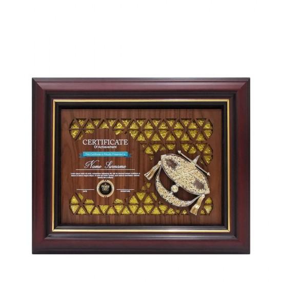 7337 Exclusive Culture Souvenirs & Plaques (Wau)