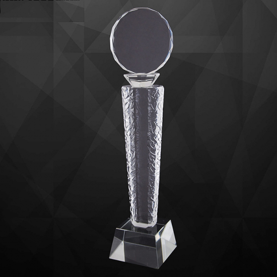 EXCLUSIVE CRYSTAL TROPHY