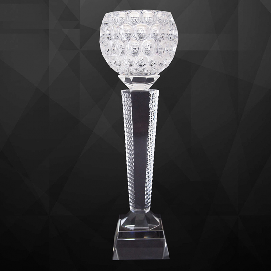EXCLUSIVE CRYSTAL BOWL TROPHY