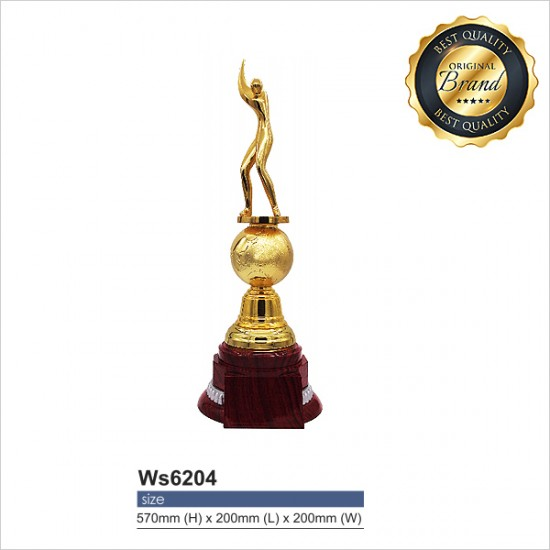 EXCLUSIVE WHITE SILVER TROPHY WS6204