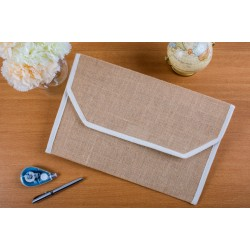 JUTE DOCUMENT FOLDER