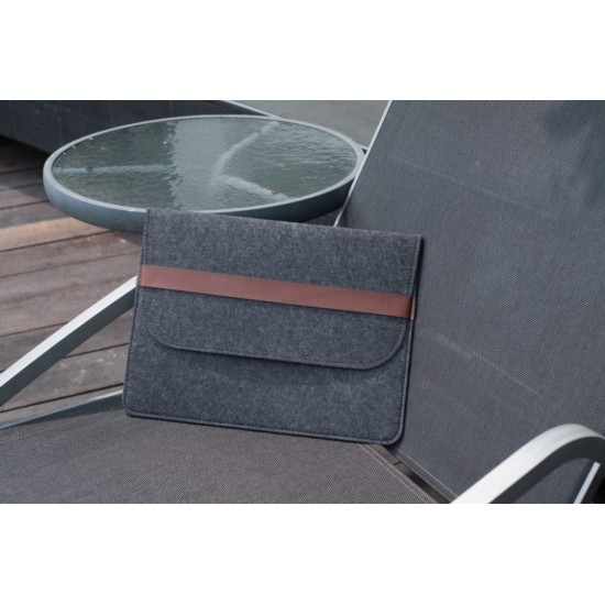 WOOL FELT LAPTOP SLEEVE CASE