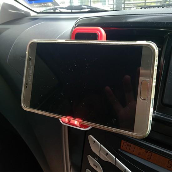 PHONE HOLDER WITH CAR FRESHENER