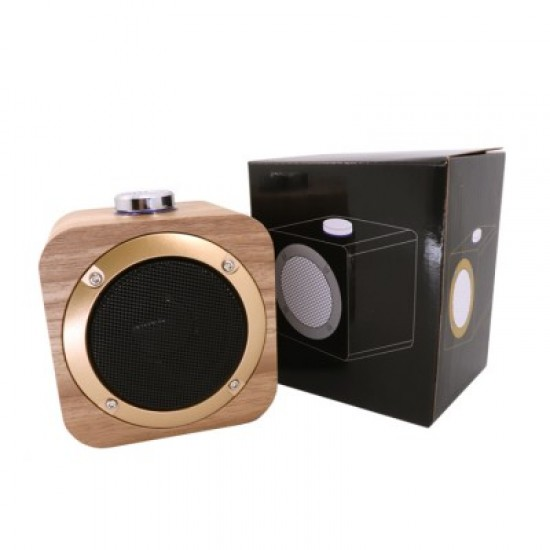 XDESIGN WOODEN BLUETOOTH SPEAKER WITH BUILT-IN BATTERY
