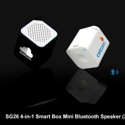 4-IN-1 SMART BOX MINI BLUETOOTH SPEAKER (2W)