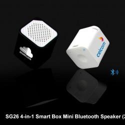 4-IN-1 SMART BOX MINI BLUETOOTH SPEAKER (2W)