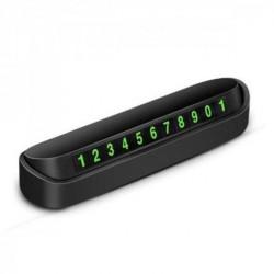 Foldable Parking Car Plate Number