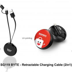 BYTE - RETRACTABLE CHARGING CABLE (2 IN 1)