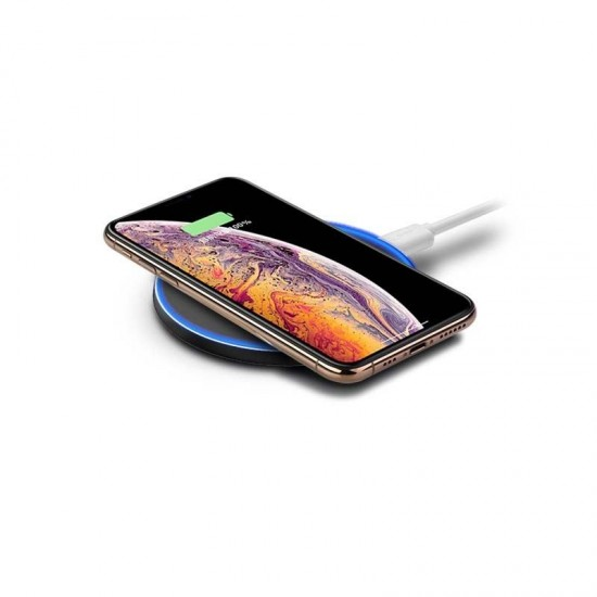 METALLIC CASING - 10W FAST CHARGING - WIRELESS CHARGER