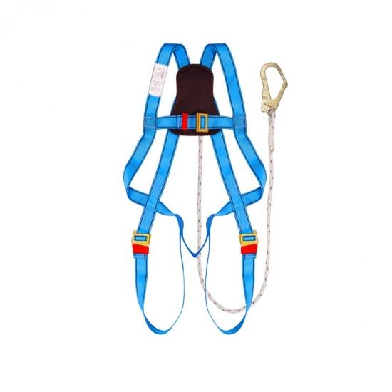 Full Body Harness Built-in Lanyard & Large Hook