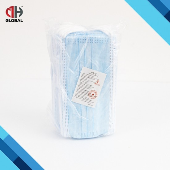95MPLUS Face Mask 3ply Disposable 50PCS Earloop Ready Stock Daily Mask