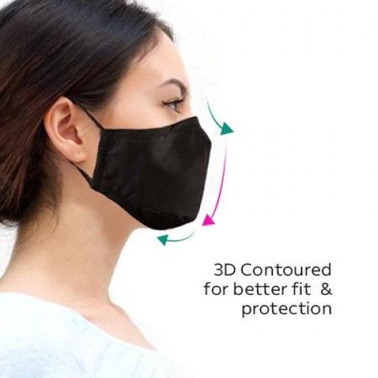 Reusable 3 Layer Cotton Face Mask
