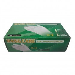 LATEX GLOVE HYGIENE 100PCS