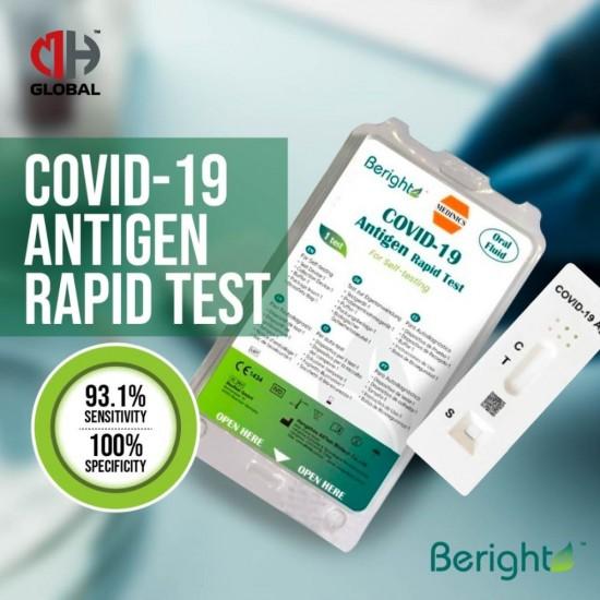 BERIGHT COVID-19 Antigen Rapid Test Oral Fluid Home Use
