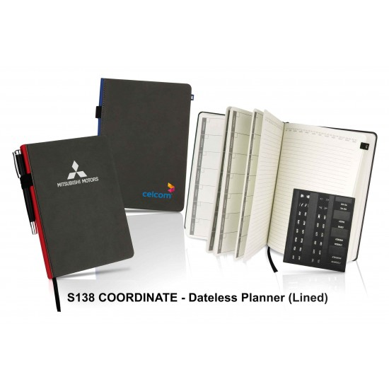 COORDINATE - DATELESS PLANNER (LINED)