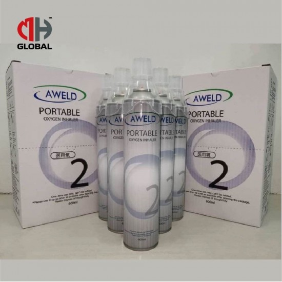 AWELD Portable Oxygen Inhaler, Respirator [99.5% Oxygen Purity] for Home, Medical and Outdoor
