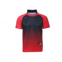 SUBLIMATION RUGBY DRYFIT RGB 01 RED FOX