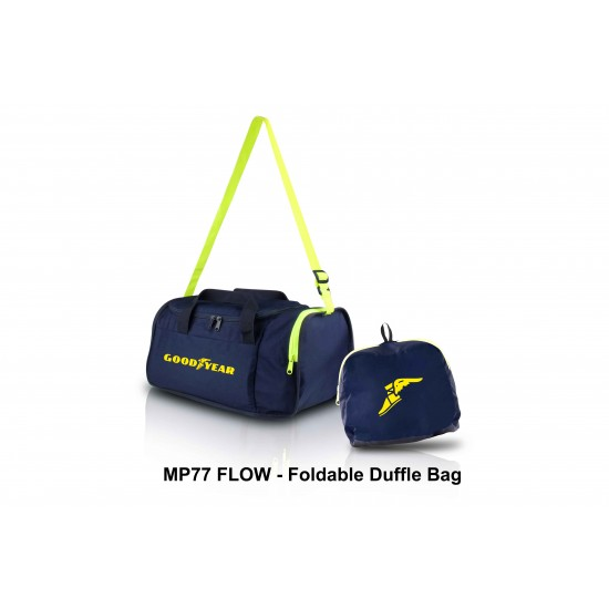 FLOW - FOLDABLE DUFFLE BAG
