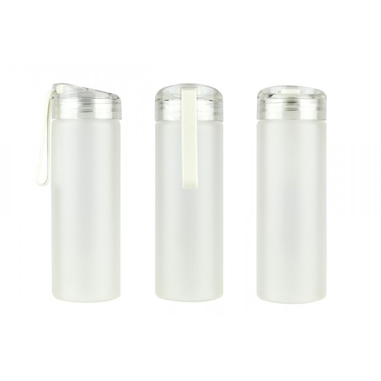 AUSTIN - FROSTED GLASS BOTTLE (500 ML)