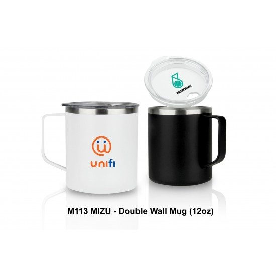 MIZU - DOUBLE WALL MUG (12 OZ)