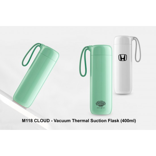 CLOUD - VACUUM THERMAL SUCTION FLASK (400 ML)