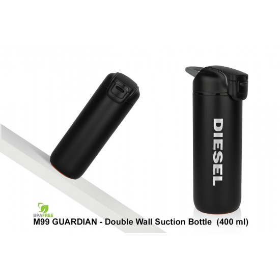 GUARDIAN - DOUBLE WALL SUCTION BOTTLE (400 ML)