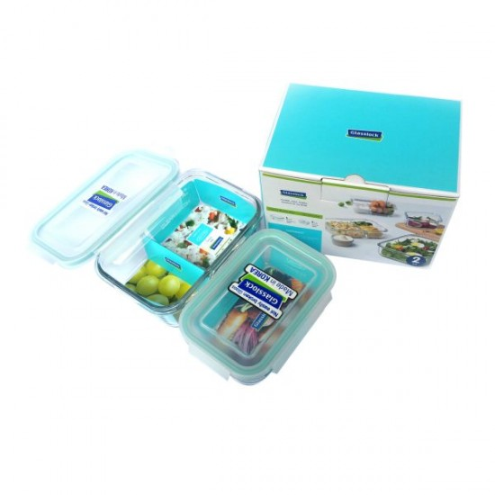 2 PCS SET OF FOOD CONTAINER (GL-1531)
