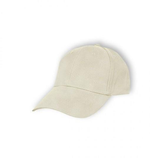 BASEBALL 6 PANEL COTTON BRUSH CAP (CP01)