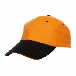 BASEBALL 6 PANEL COTTON BRUSH CAP (CP04)