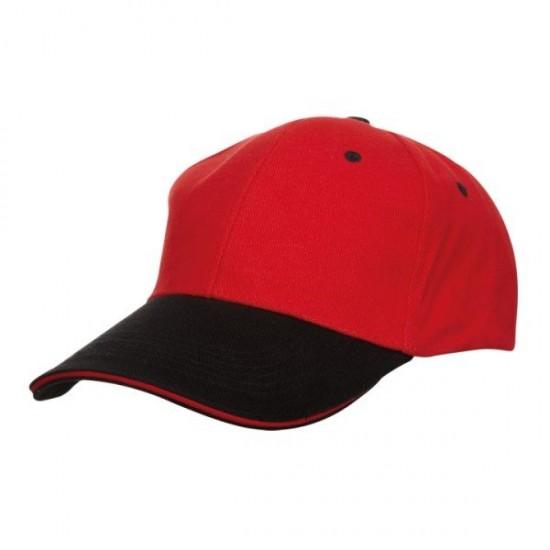 BASEBALL 6 PANEL COTTON BRUSH CAP (CP04)