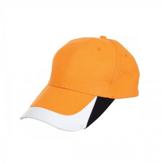 BASEBALL 6 PANEL COTTON BRUSH CAP (CP17)