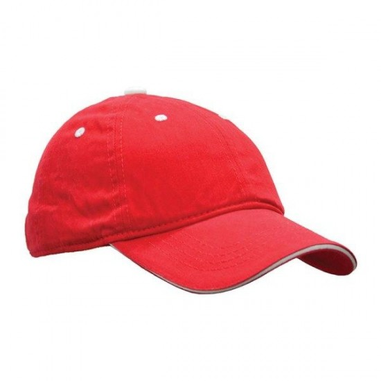 STONE WASH BRUSH CAP (ES-CP-05)