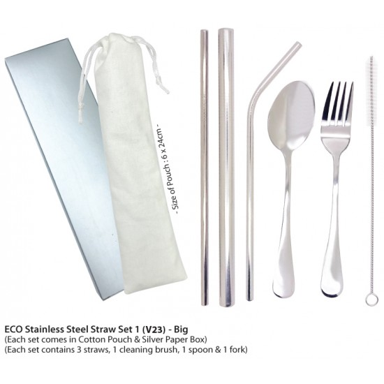 ECO STAINLESS STEEL CUTLERY SET
