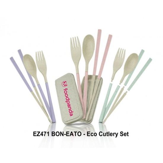 BON-EATO - Eco Cutlery Set