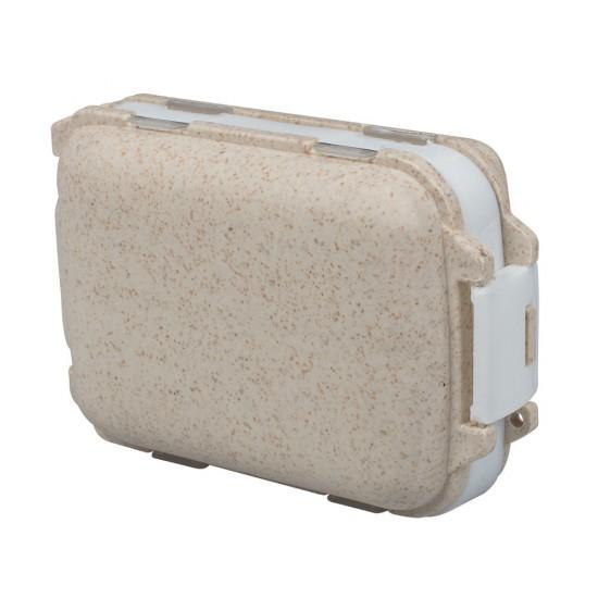 WHEAT STRAW PILL BOX