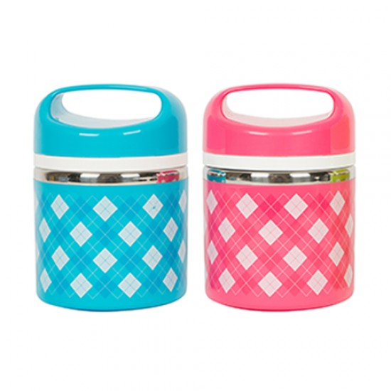 COLOURFUL STAINLESS STEEL LUNCH BOX