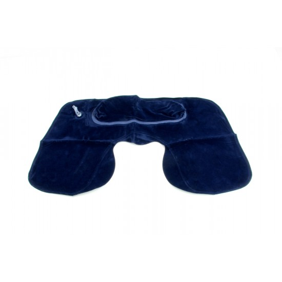 DOUBLE COMFORT TRAVEL PILLOW (INFLATABLE)