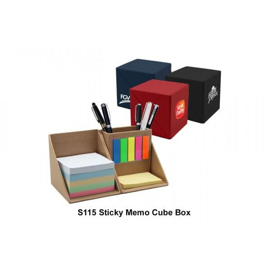 THE CUBE - STICKY MEMO BOX