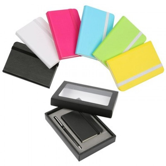 2-IN-1 ALORA NOTEBOOK WITH METAL PEN SET
