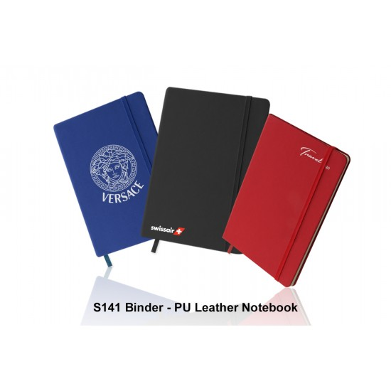 BINDER - PU LEATHER NOTEBOOK