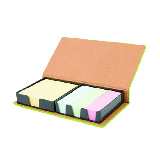 PU MEMO PAD & POST IT NOTE