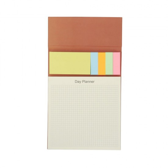 Notebook With Post It Note