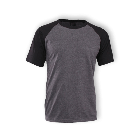 1028A RAGLAN ROUND NECK (30TC) – ADULT