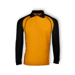HONEYCOMB POLO RAGLAN LONG SLEEVE – HSL