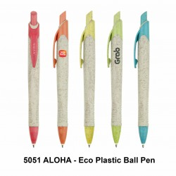 ALOHA - ECO PLASTIC BALL PEN