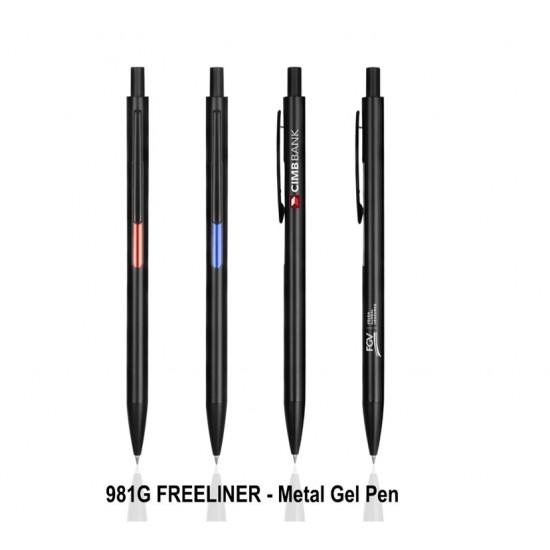 FREELINER - Metal Gel Pen